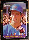 192 - Dave Magadan by Foob's Baseball Cards