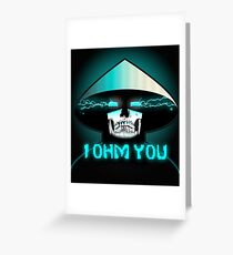 Mortal Kombat X Raiden: I OHM YOU. Greeting Card