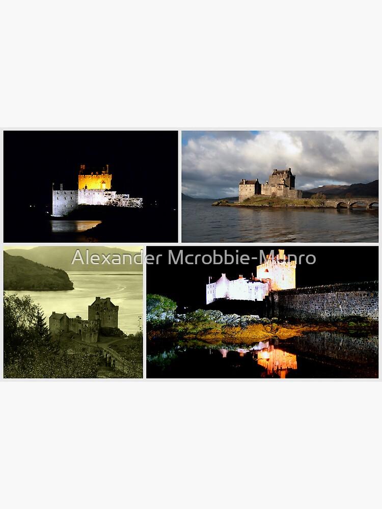Eilean Donan Castle Collage by Alexanderargyll