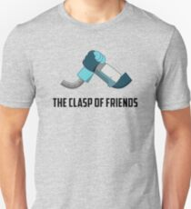 The Clasp of Friends Unisex T-Shirt