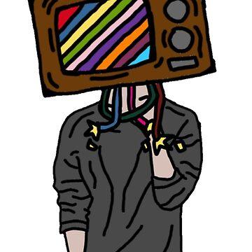 TV Head by Allison-Daniel