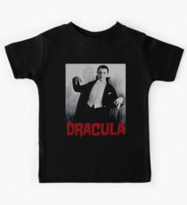 Dracula Vintage Movie Poster Kids Tee