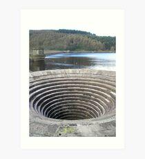 Ladybower Reservoir Art Print