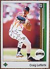 157 - Craig Lefferts by Foob's Baseball Cards