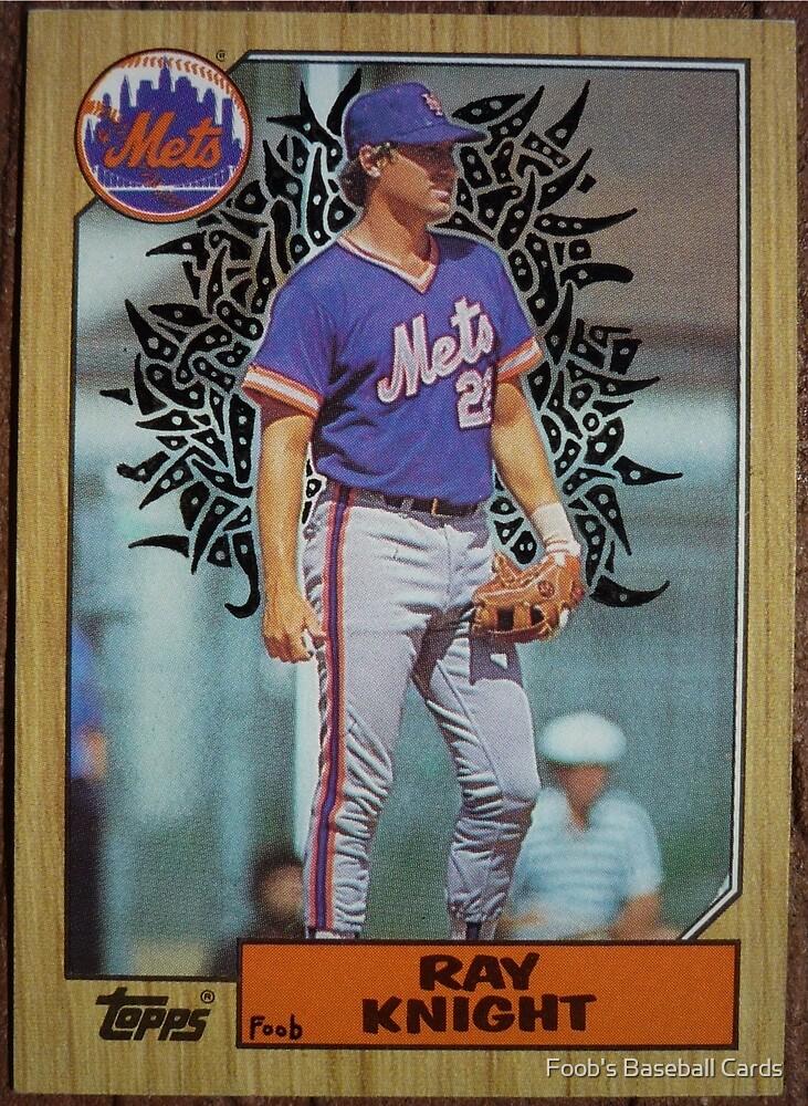 152 - Ray Knight by Foob's Baseball Cards