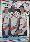 164 - Changing the Guard in Boston by Foob's Baseball Cards