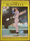 180 - Jack McDowell by Foob's Baseball Cards