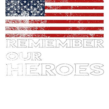 Memorial Day-Remember our Heroes by TulleDesign