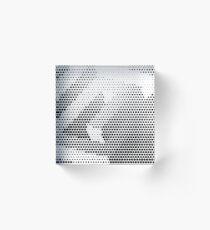 Daedalus [b&w halftone edition] Acrylic Block