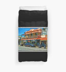 Country pub @ Strathalbyn Duvet Cover