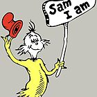 Dr Seuss Sam I Am by RedWork