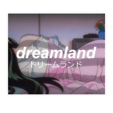 dreamland vintage anime by charmeur