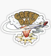 Green Day's Dookie Logo Sticker