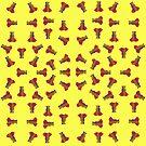 Rainbow Ganesha Pattern (Yellow) by Diego-t