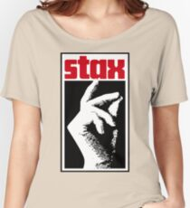 Stax Records Hand Women's Relaxed Fit T-Shirt