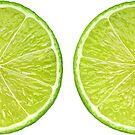 Lime halves by 6hands