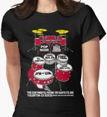 Dojo + Pop Noir Women's Fitted T-Shirt