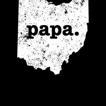 Best Papa Ohio  Funny Grandpa by shoppzee