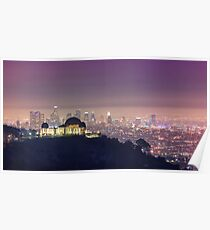Los Angeles Cityscape Poster