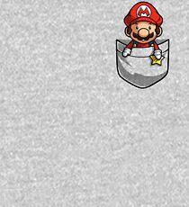 Pocket Mario Tshirt Kids Pullover Hoodie