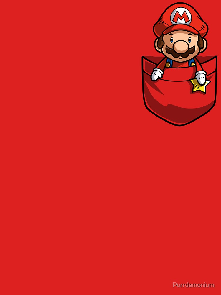 Pocket Mario T-shirt de Purrdemonium