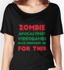Zombie fan gift Women's Relaxed Fit T-Shirt
