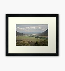 Capertee valley view Framed Print