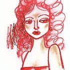 Lip Stick Girl by Midori Furze