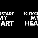 Kickstart My Heart - Black by GnomeEnthusiast