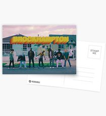 Brockhampton Saturation Heat  Postcards