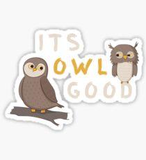 It's Owl Good  Sticker