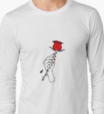 Lil Peep Red Rose Long Sleeve T-Shirt