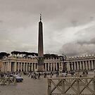 The Obelisk.................Rome by Fara