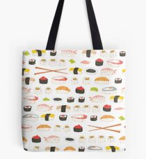 Sweet Sushi Pattern Tote Bag