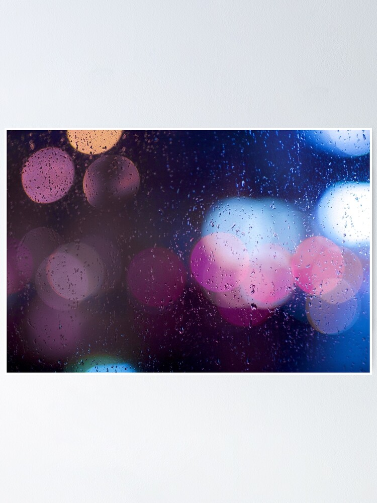 Alternate view of Raindrop on the window Poster