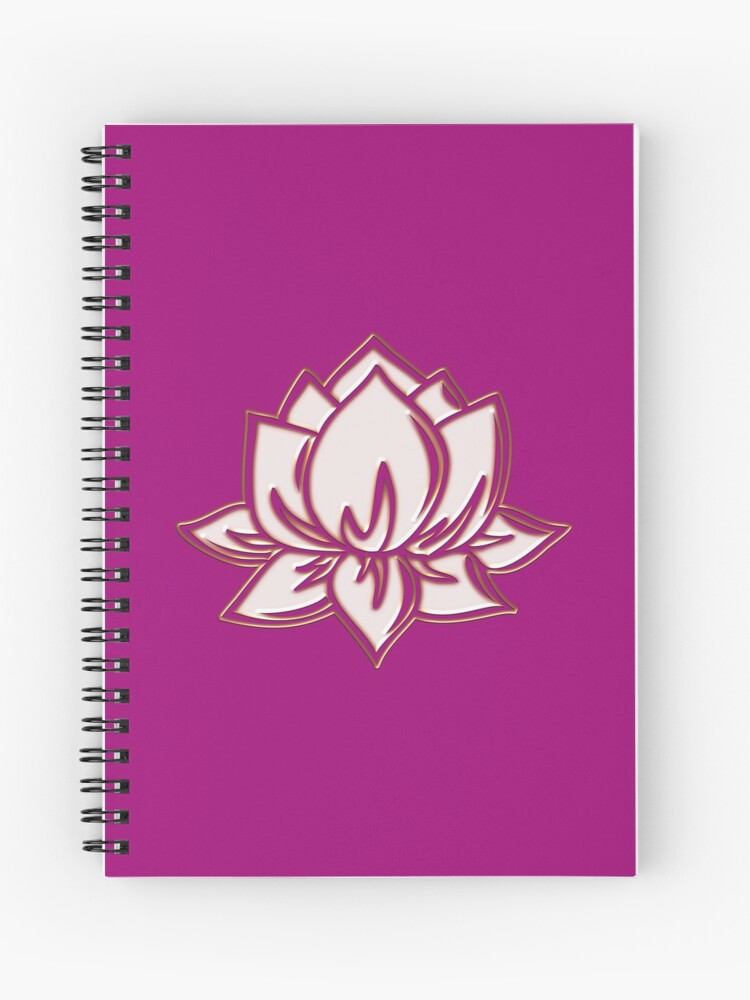 Lotus Flower Symbol Wisdom Enlightenment Buddhism Zen Spiral