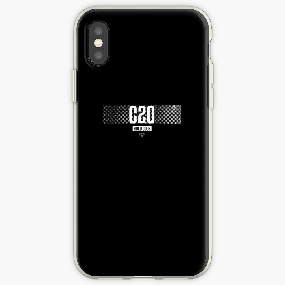 CRYPTO20 (C20) Crypto Hold Club iPhone-Hülle & Cover