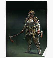 For Honor - Berserker Poster