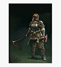 For Honor - Berserker Photographic Print