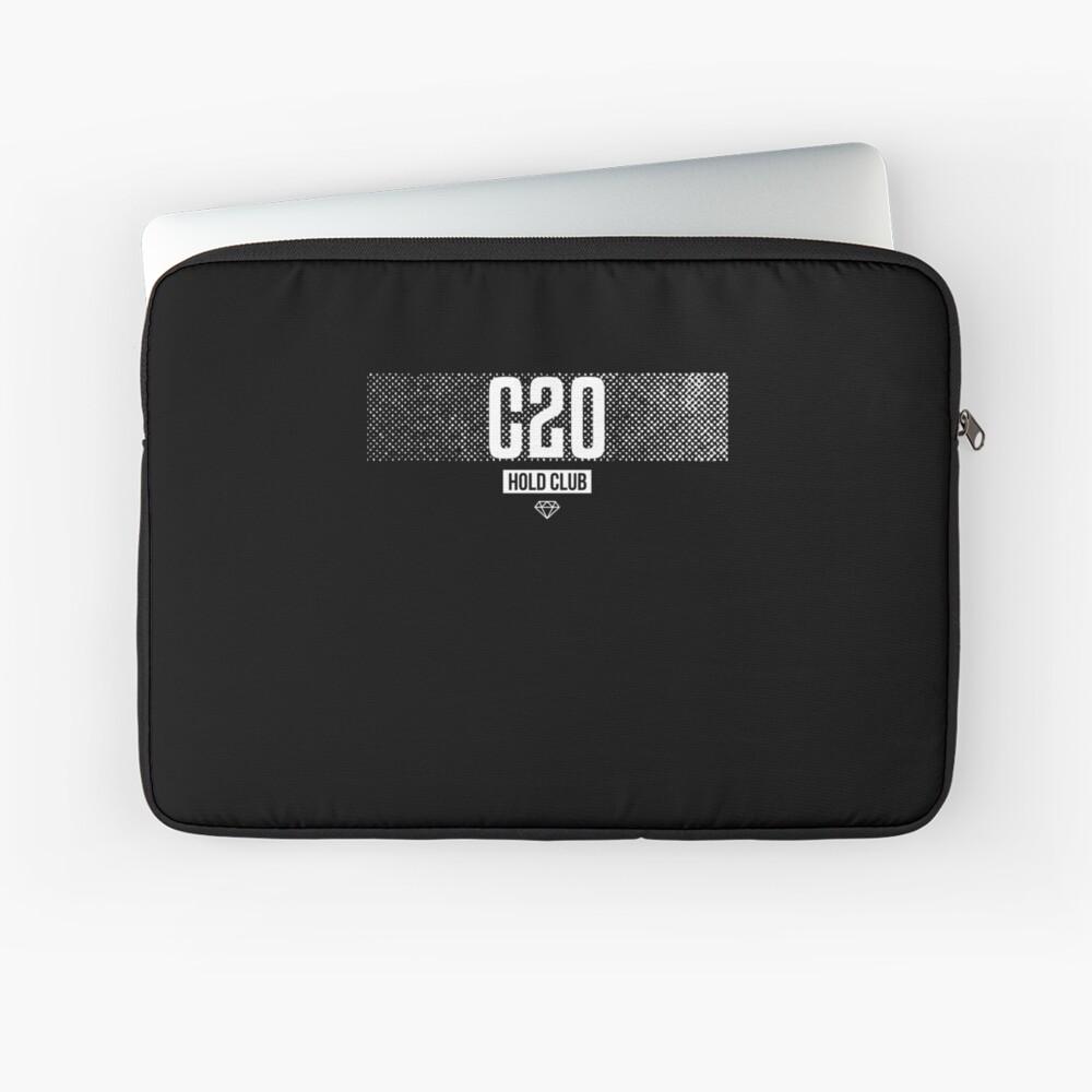 CRYPTO20 (C20) Crypto Hold Club Laptoptasche