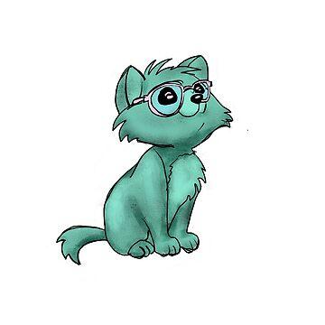 smart kitty by Deki