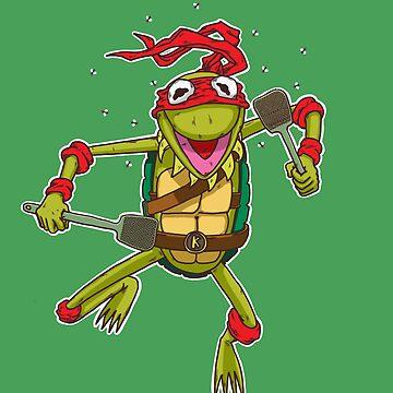 Teenage Muppet Ninja Puppet by TaBryant85