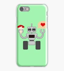 The Robot Who Loved iPhone Case/Skin