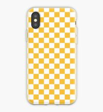 YELLOW CHECK iPhone Case