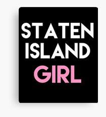 Staten Island Girl - Staten Island NY Gifts Canvas Print