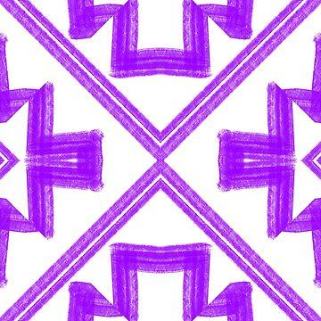 Purple drawn series 1 by Emerlamb