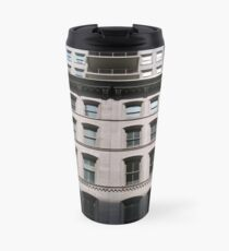 Apartment, New York, Manhattan, New York City, Skyscraper, tower block, high rise building, tower, block, high rise, building Travel Mug
