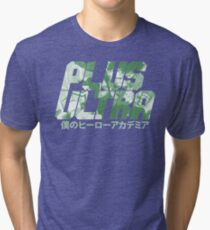 Plus Ultra - Deku Tri-blend T-Shirt