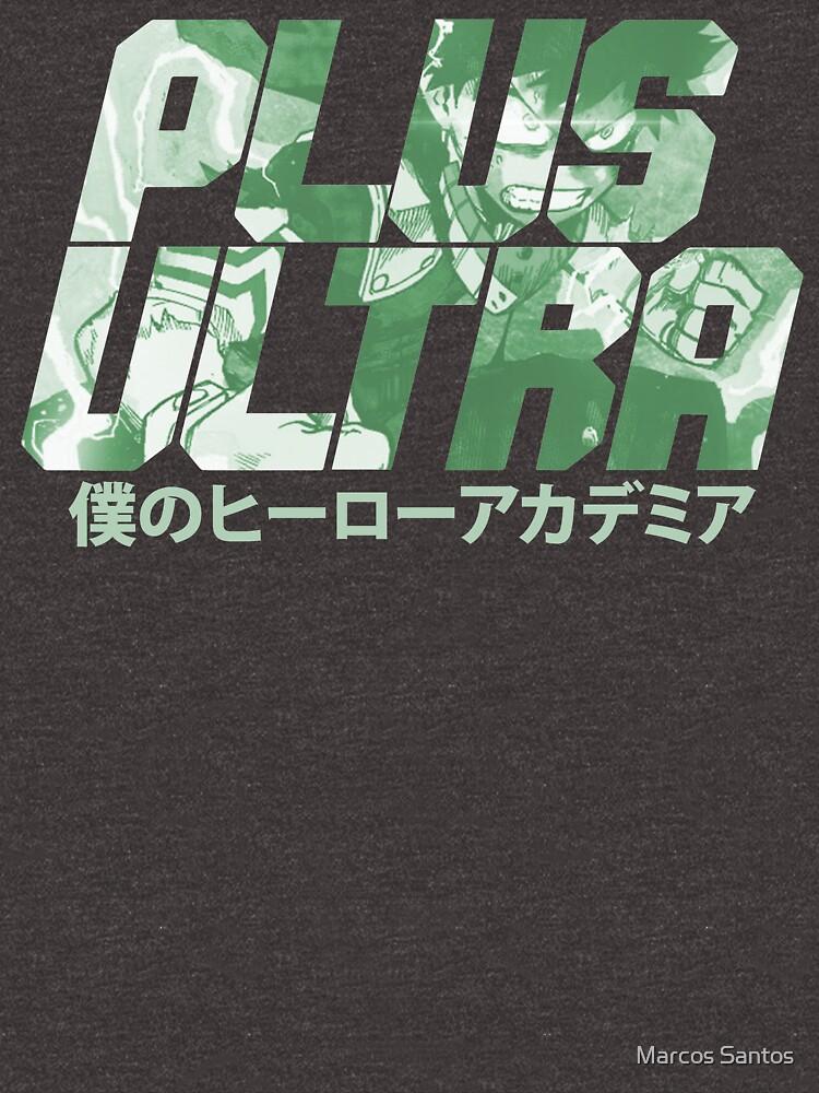 Plus Ultra - Deku by Pautyr