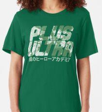 Plus Ultra - Deku Slim Fit T-Shirt